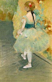 Dancer in Green | Degas | Painting Reproduction
