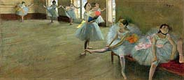 Dancers in the Classroom, c.1880 von Degas | Gemälde-Reproduktion
