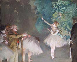 Ballett-Training, 1875 von Degas | Gemälde-Reproduktion