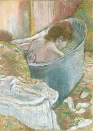 The Bath, undated von Degas | Gemälde-Reproduktion