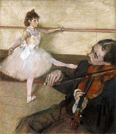 The Dance Lesson | Degas | veraltet
