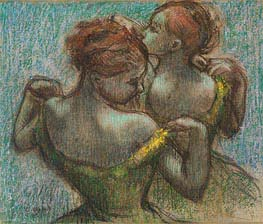 Two Dancers, Half-Length | Degas | veraltet