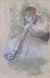 Dancer, c.1880/85 by Degas | Painting Reproduction