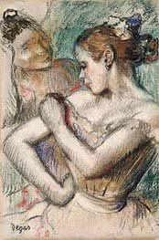 Dancer, 1896 by Degas | Painting Reproduction