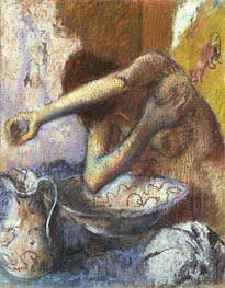 Woman at her Toilet | Degas | Gemälde Reproduktion
