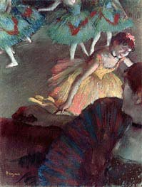 Ballerina and Lady with a Fan | Degas | veraltet