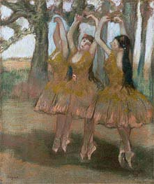 The Greek Dance, c.1881 by Degas | Painting Reproduction