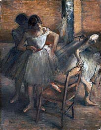 Dancers, c.1895/00 by Degas | Painting Reproduction