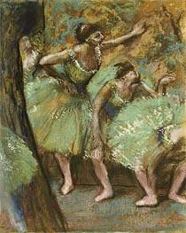 Dancers, 1898 von Degas | Gemälde-Reproduktion