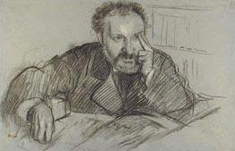 Edmond Duranty, undated von Degas | Gemälde-Reproduktion