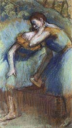 Two Dancers, c.1891 by Degas | Painting Reproduction