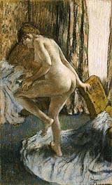 Nach dem Bad, c.1883 von Degas | Gemälde-Reproduktion