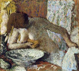 Woman at her Toilet | Degas | veraltet