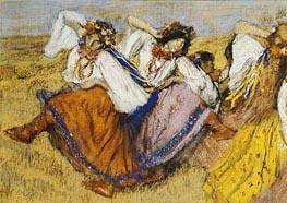 Russischer Tänzer | Degas | Gemälde Reproduktion