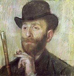 Zachary Zakarian, c.1885 von Degas | Gemälde-Reproduktion