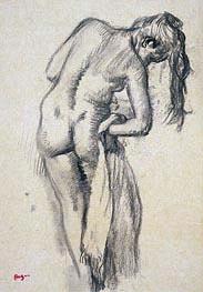 Nach dem Bad, c.1891/92 von Degas | Gemälde-Reproduktion