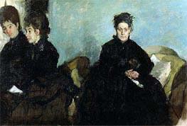 Die Herzogin von Montejasi und ihre Töchter, 1876 von Degas | Gemälde-Reproduktion