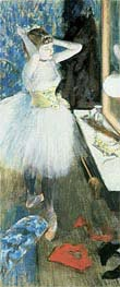 Ballerina in Umkleidekabine, c.1879 von Degas | Gemälde-Reproduktion