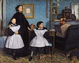 The Bellelli Family, c.1858/67 von Degas | Gemälde-Reproduktion