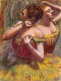 Two Dancers, c.1898/99 von Degas | Gemälde-Reproduktion