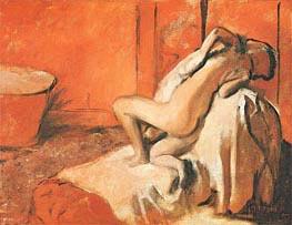 Nach dem Bad, c.1896 von Degas | Gemälde-Reproduktion