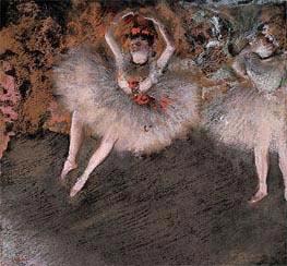 The Pas Battu, c.1879 von Degas | Gemälde-Reproduktion