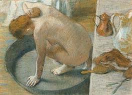 Die Wanne, 1886 von Degas | Gemälde-Reproduktion