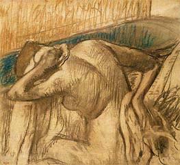 Woman at her Toilet, c.1902 von Degas | Gemälde-Reproduktion