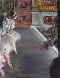 Ballerinas bei der Alten Oper, c.1877 von Degas | Gemälde-Reproduktion