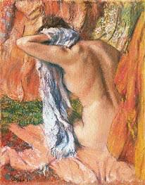 nach dem Bad, c.1890/93 von Degas | Gemälde-Reproduktion