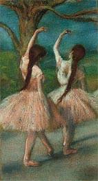 Ballerinas in Rosa, c.1883 von Degas | Gemälde-Reproduktion