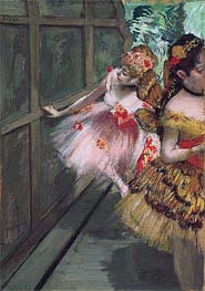 Dancers in the Wings, 1880 von Degas | Gemälde-Reproduktion
