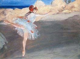 The Star: Dancer on Point, c.1878 von Degas | Gemälde-Reproduktion