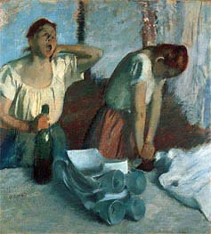 Women Ironing, c.1884 von Degas | Gemälde-Reproduktion