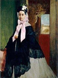 Therese Degas, 1863 von Degas | Gemälde-Reproduktion