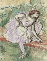 Violet Tänzerin, c.1895/98 von Degas | Gemälde-Reproduktion