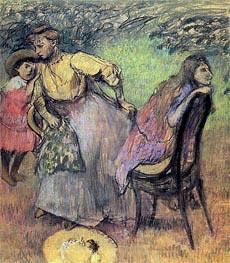 Madame Rouart mit ihren Kindern, c.1905 von Degas | Gemälde-Reproduktion