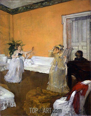 Degas | The Song Rehearsal, c.1872/73