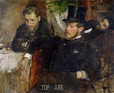 Jeantaud, Linet and Laine, 1871 | Degas| Painting Reproduction