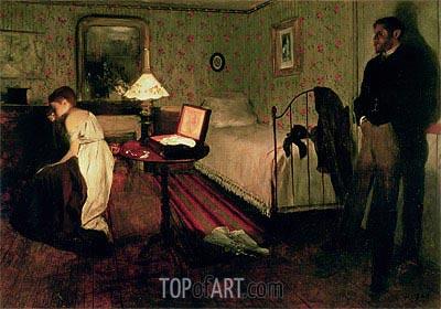 Degas | Interior Scene (The Rape), c.1868/69