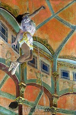 Degas | Miss La La at the Cirque Fernando, 1879