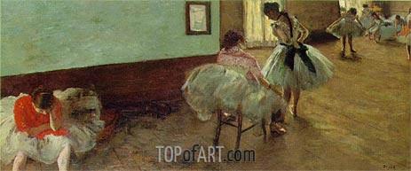 Degas | The Dance Lesson, c.1879/80