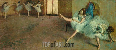 Before the Ballet, c.1890/92 | Degas | Painting Reproduction