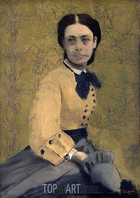 Princess Pauline de Metternich, c.1865 | Degas | Gemälde Reproduktion