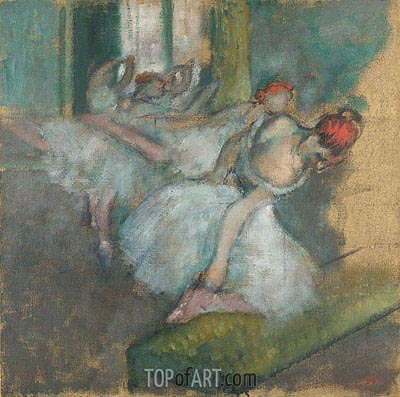 Ballet Dancers, c.1890/00 | Degas | Painting Reproduction