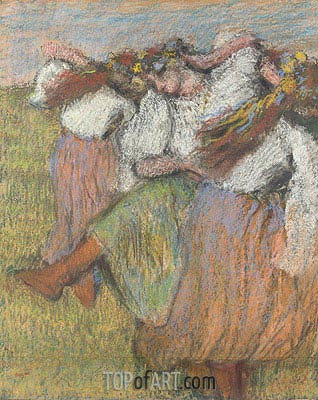 Russian Dancers, c.1899 | Degas | Painting Reproduction