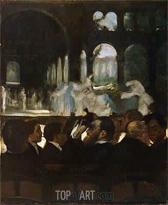 The Ballet from 'Robert le Diable', 1871 | Degas| Painting Reproduction