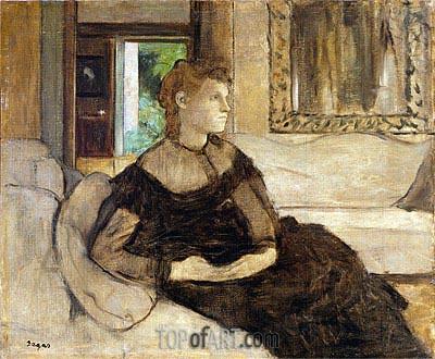 Degas | Madame Theodore Gobillard (Yves Morisot), 1869