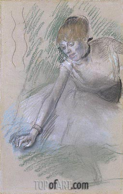 Dancer, c.1880/85 | Degas| Painting Reproduction