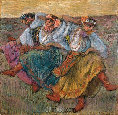 Russian Dancers, 1899 | Degas| Painting Reproduction